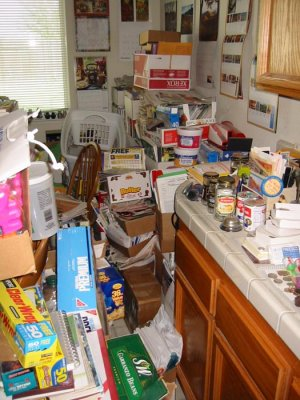To my great relief, my house has not gotten this disastrous. Yet.