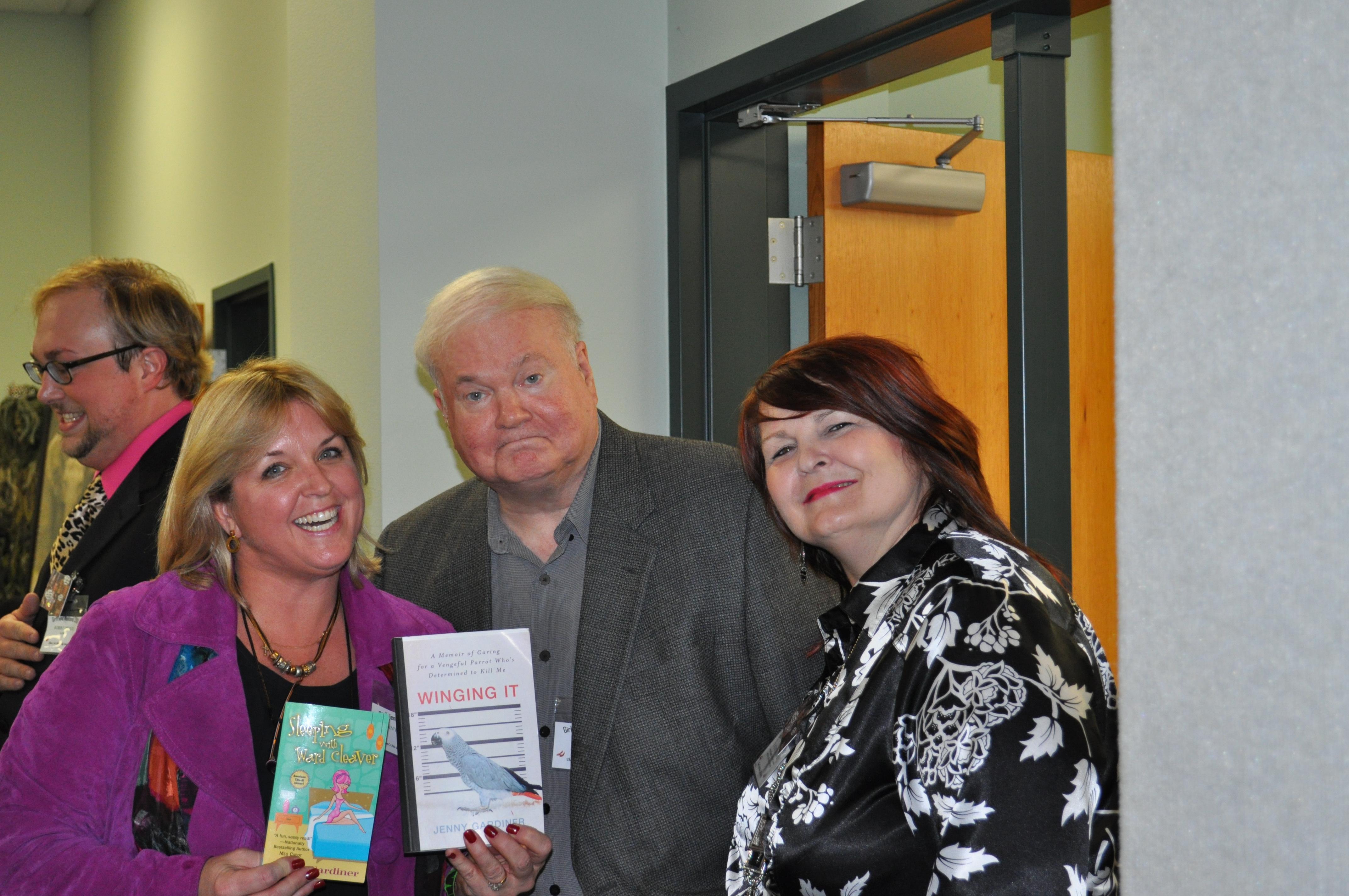 me, Pat Conroy and Kathy Patrick