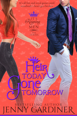 Heir Today Gone Tomorrow by Jenny Gardiner